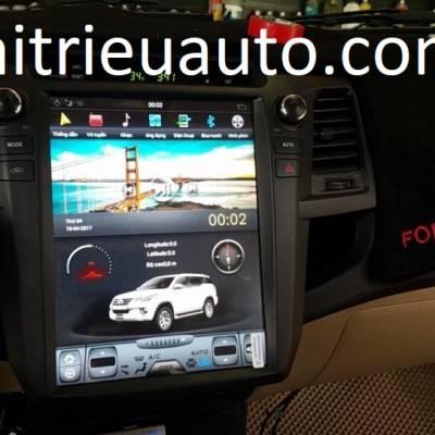 màn hình android theo xe fortuenr 2014
