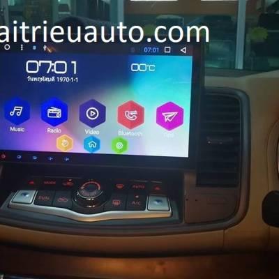 màn hình android theo xe Teana