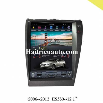Màn hình tesla android cho xe Lexus ES 350