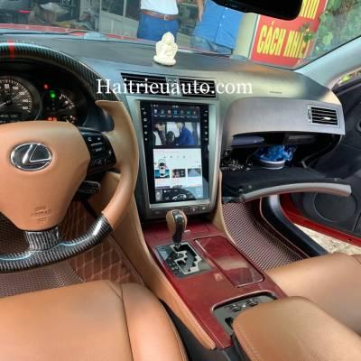 Màn hình tesla android theo xe Lexus GS 350