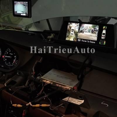 Lắp camera 360 độ cho xe BMW 528I
