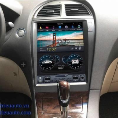 Màn hình tesla android heo xe lexus ES350