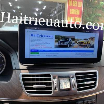Màn hinh android theo xe mercedes E200