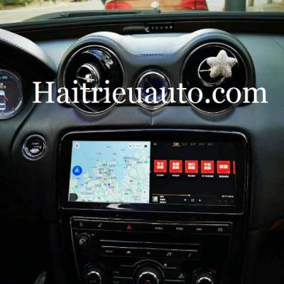 màn hình android xe jaguar