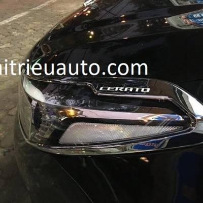 viền đèn trước cho xe Kia cerato 2017