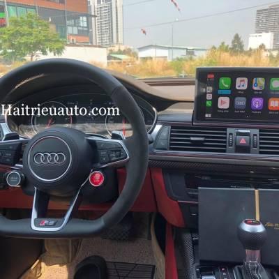 Nâng cấp vô lăng RS cho Audi A7