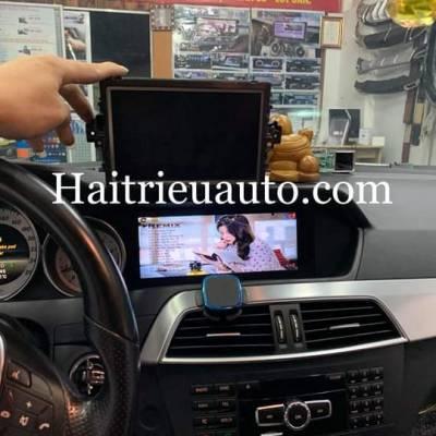 Màn hình android theo xe Mercedes C300 2012
