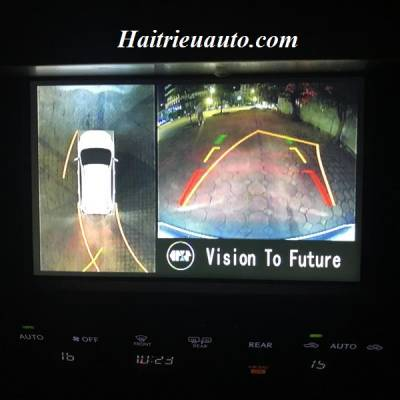 Lắp camera 360 độ cho Lexus GX460