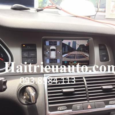 camera 360 Oview cho xe audi q7