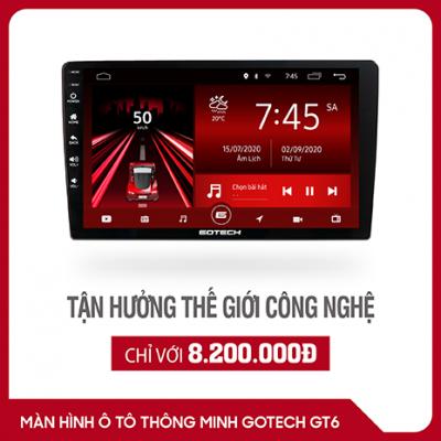 màn hình android Gotech GT6