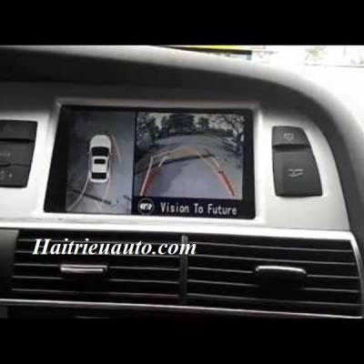Lắp camera 360 cho xe Audi A6