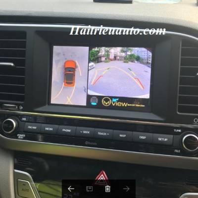 Lắp camera 360 độ cho xe Hyundai Elantra