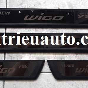 nẹp bước chân cho xe Toyota Wigo