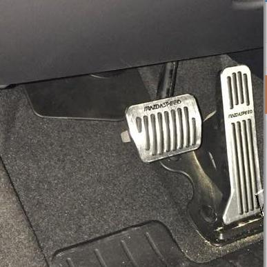Ốp pedal Mazda 2