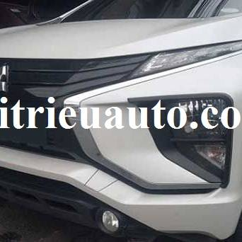 Viền đèn pha màu đen cho Mitsubishi Xpander