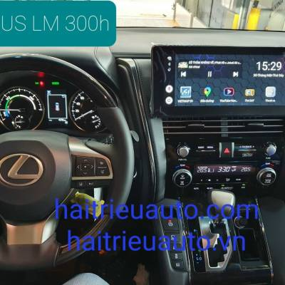 android theo xe lexus LM 300h