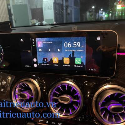 bộ kế nối android theo xe mercedes GLB