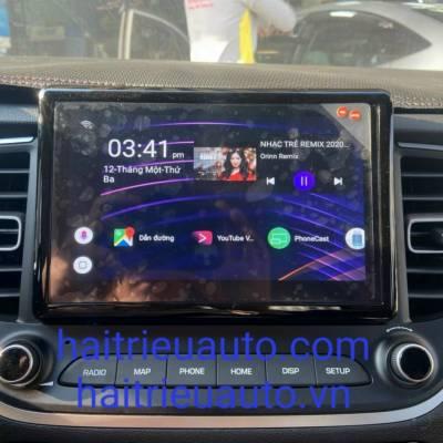 màn hình android theo xe hyundai accent 2021