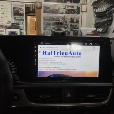 màn hình android theo xe kia Seltos