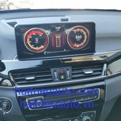 màn hình android theo xe BMW x1 2018