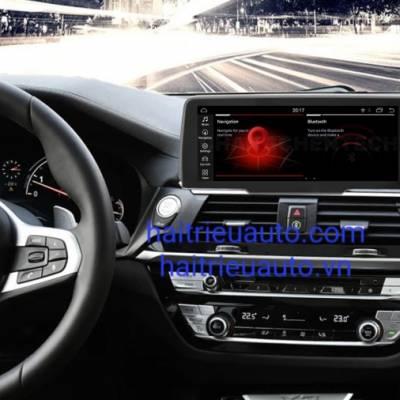 màn hình android theo xe BMW X3 2018