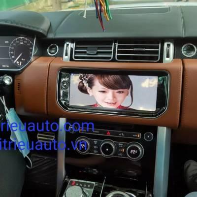 màn hình android theo xe Range Rover Vogue