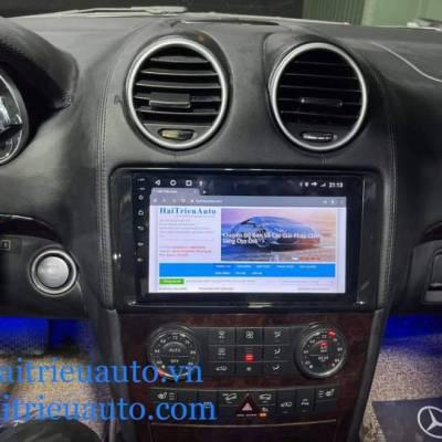 màn hình android theo xe mercedes GL