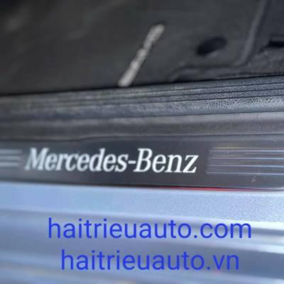 nẹp bước chân có đèn cho xe mercedes GLC