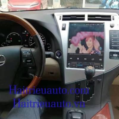 màn hình android tesla cho xe lexus RX