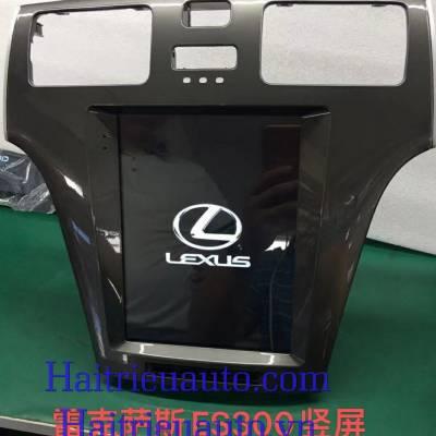 màn hình tesla cho xe lexus ls300