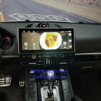 màn hình android cho xe Porsche cayenne
