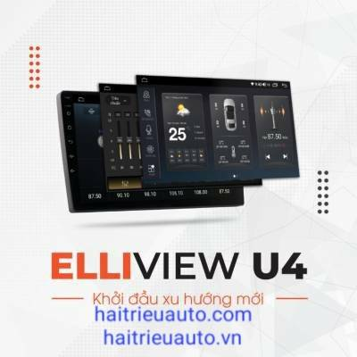 Màn Hình Android Elliview U4 Deluxe