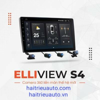 màn hình  Android Elliview S4 Deluxe