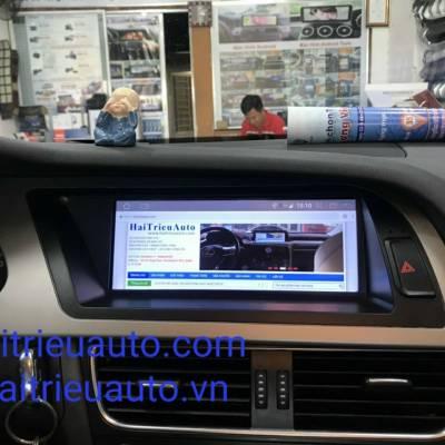 màn hình android xe audi A5