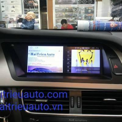màn hình android xe audi A4