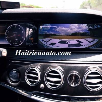 lắp camera 360 cho xe Merrcedes S400