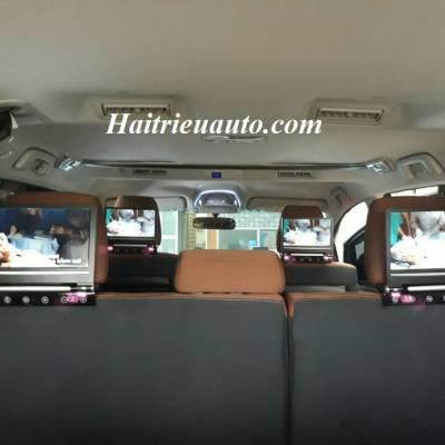 Màn hình gối đầu cho xe Innova 2017