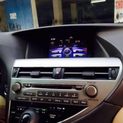 màn hình dvd theo xe lexus RX350