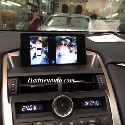 Lắp camera 360 độ cho Lexus NX200T