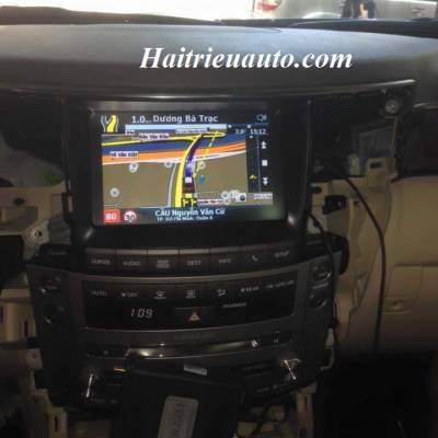 Lắp Vietmap cho xe Lexus