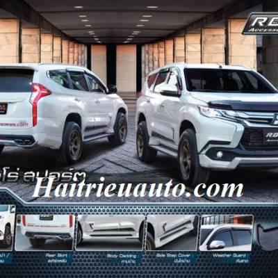 Bodykits cho xe Mitsubishi Pajero Sport