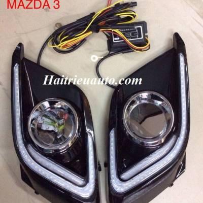 Đèn led gầm Mazda 3