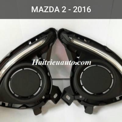 Đèn led gầm Mazda 2