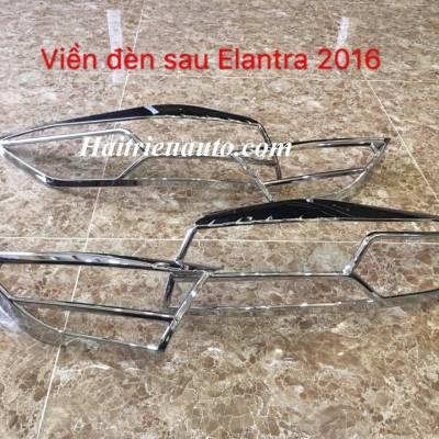 Viền đèn sau Elantra 2016