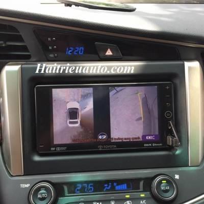 Lắp camera 360 độ cho xe Innova 2017