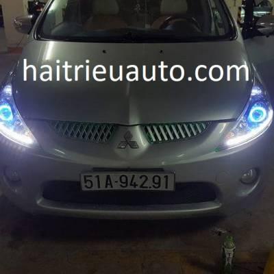 độ đèn bi xenon cho xe Mitsubishi Grandis