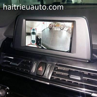 lắp camera 360 độ cho xe BMW 218i