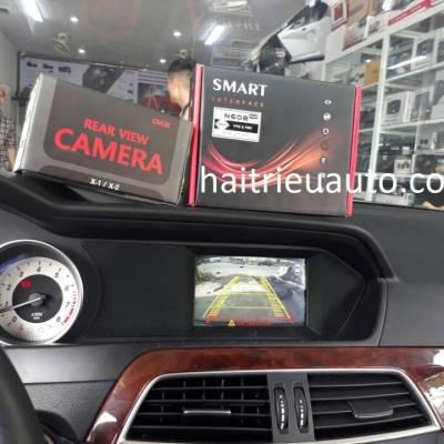 Lắp camera lùi cho xe Mercedes C250