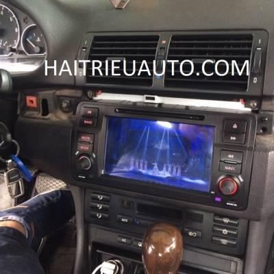 màn hình dvd theo xe BMW 318