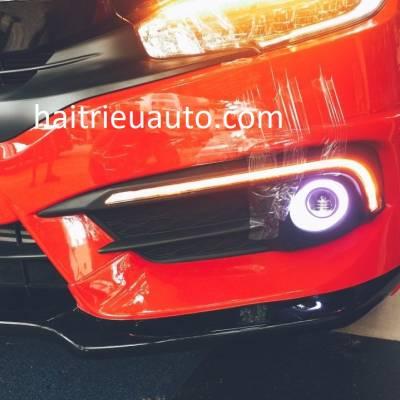 đèn led gầm xe honda CIVIC 2017